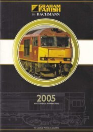 Graham Farish (Bachmann) 2005 Catalogue