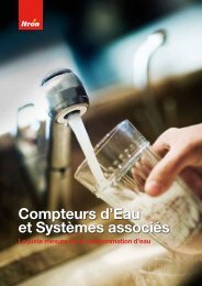 Brochure Gamme Produits Eau - Itron