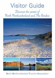Download and view the NNTA Visitor Guide - North Northumberland ...