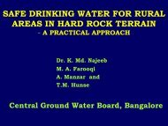 safe drinking water for rural areas in hard rock ... - Igcp-grownet.org