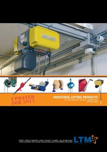 INDUSTRIAL LIFTING PRODUCTS - Lift Turn Move
