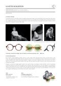 "Press Release 12/2012: ""Constructivismo"" Frame - Lunettes Kollektion - Page 3"