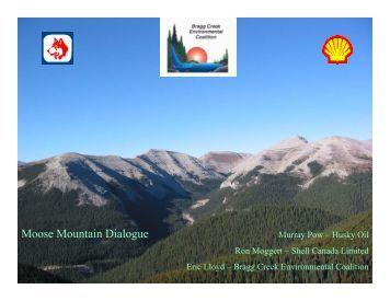 Read about it here in a presentation (PDF 861KB) - Bragg Creek ...