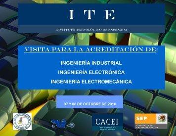 I  T  E - Instituto Tecnológico de Ensenada.