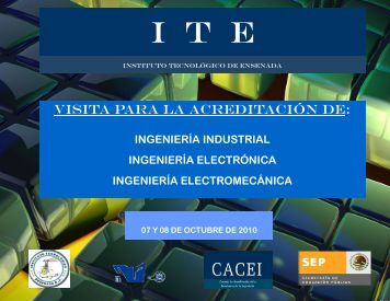 I  T  E - Instituto Tecnológico de Ensenada.
