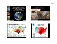 Humani es Seminar: Fall, 2011 Climate Change: Natural and ...