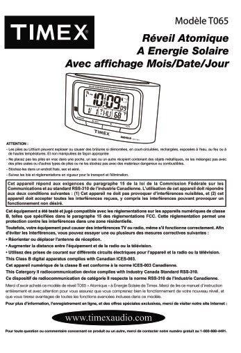 T 065 French IB 0615a - TIMEX Audio