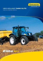NEW HOLLAND T6000 ELITE