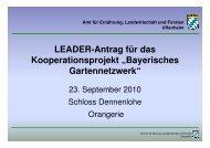 Die Kooperationsvereinbarung - Region Hesselberg CMS