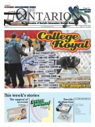 See page 12 - The Ontarion