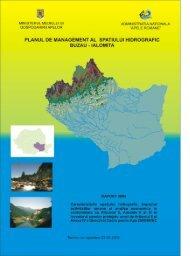 Planul de management al spatiului hidrografic ... - Apele Romane
