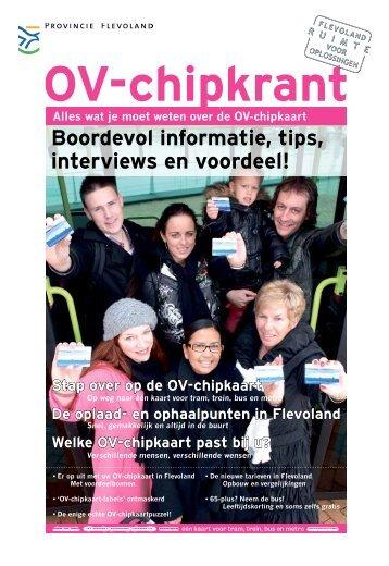 OV-chipkrant - Provincie Flevoland