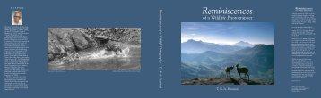Reminiscences of a Wildlife Photographer PHOTOGRAPHY