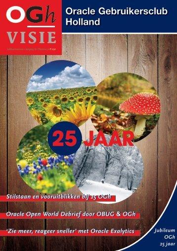 25 JAAR - Oracle Gebruikersclub Holland