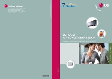 LG ROOM AIR CONDITIONERS 2007