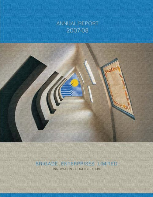 The Annual Report 2007-08 - Resource Communications Pvt. Ltd