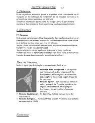 TEJIDO NERVIOSO 2.0 1. Definición 1. Estructura Tipos ... - Escolares
