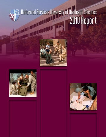 2010 Report - Uniformed Services University of the Health Sciences