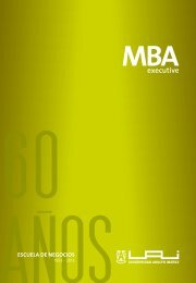 executive MBA - Universidad Adolfo Ibañez