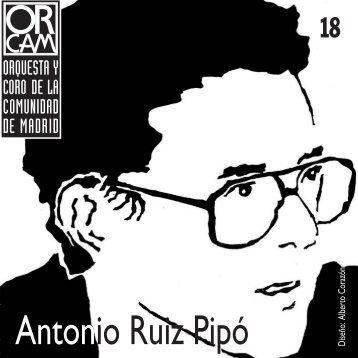 Antonio Ruiz Pipó - Orquesta y Coro de la Comunidad de Madrid