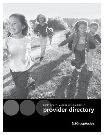Basic Health and Basic Health Plus Provider Directory - Group Health