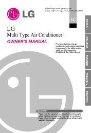 Owner S Manual Air Conditioner Split Type Klimatizace Tsc