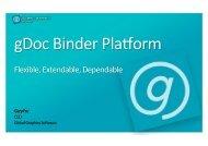 Binder Platform Presentation - Global Graphics