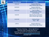 Southeastern Zone Meeting Dates for 2012-2013 - nys ahperd