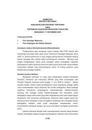 Pidato Mentan Sulsel - Pusat Sosial Ekonomi dan Kebijakan ...