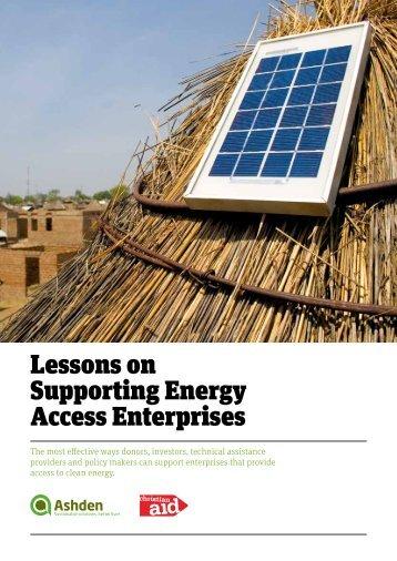 Ashden-Christian-Aid-Energy-Access-Enterprises-Report