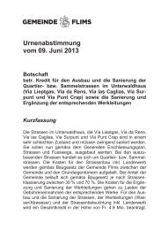 Urnenabstimmung vom 09. Juni 2013