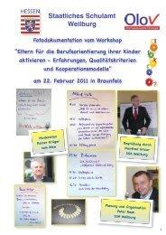 Workshop am 22.02.2011 in Braunfels - OloV