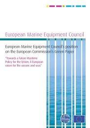 EMEC position on the EC Green Paper
