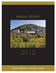 ANNUAL REPORT - Mining Yukon Portal