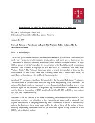 Memorandium Letter To The International Committee Of The ... - Jlac