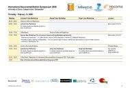 International Neurorehabilitation Symposium 2009 - inrs2009.com