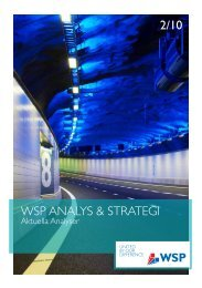 2/10 WSP ANALYS & STRATEGI - WSP Group