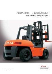 TOYOTA 5FD 50-80 - Toyota Material Handling Deutschland