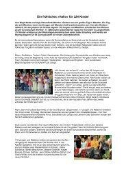 Bericht aus dem Haller Kreisblatt - Grundschule Werther