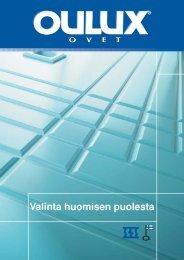 Oulux esite 2003 - Rakentaja.fi