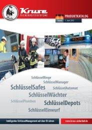 Katalog KRUSE - KRUSE Sicherheitssysteme