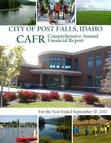 CAFR 2012 PDF - City of Post Falls
