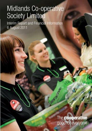 Interim Report 2011 - Midlands Co-operative Society