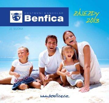 22. SEZÓNA - BENFICA - cestovní kancelář