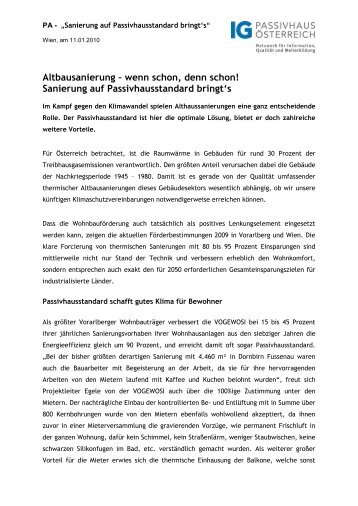 Sanierung auf Passivhausstandard bringts.pdf - Lang Consulting