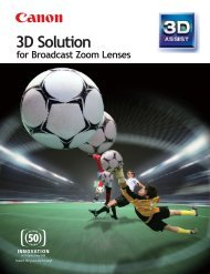 3D Solution - Canon