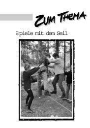 Spiele mit dem Seil - AG Schatz