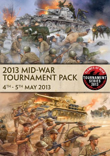 2013 Mid-War Tournament pack - Flames of War