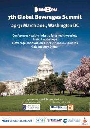 2011 InnoBev Global Beverages Summit - Zenith International