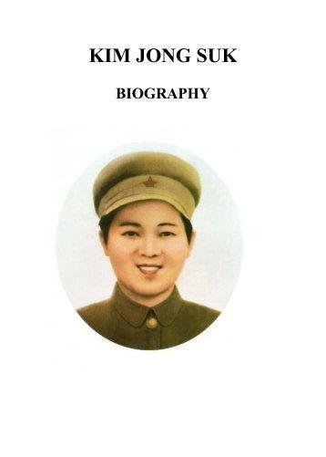 KIM JONG SUK BIOGRAPHY .pdf - Korea-DPR.com